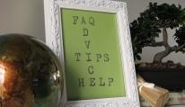 TIPS, ADVICE, HELP & FAQ's