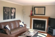 Caserta Family Room Staging After